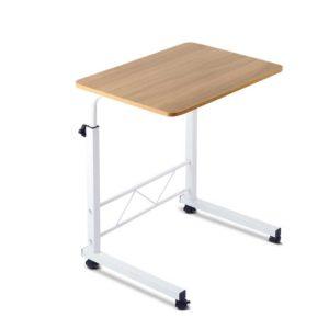 LA DESK 60 LW 00 300x300 - Mobile Twin Laptop Desk - Light Wood