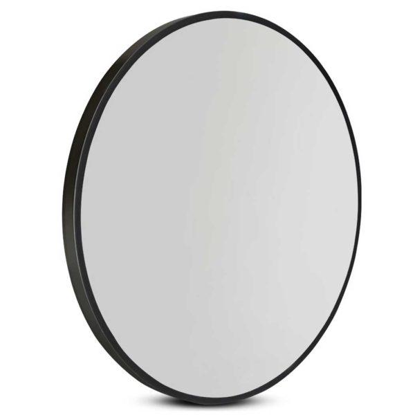 MM WALL ROU BK 50 00 600x600 - Embellir Round Wall Mirror 50cm Makeup Bathroom Mirror Frameless