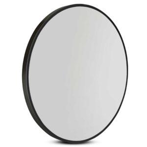 mm wall rou bk 80 00 300x300 - 80cm Frameless Round Wall Mirror