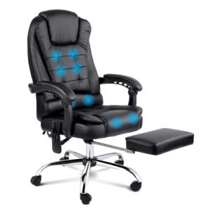 moc 9mj bk combo 00 300x300 - 8 Point Reclining Message Chair - Black