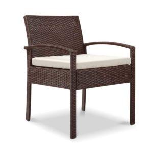 odf chair tea br 00 300x300 - Gardeon Outdoor Furniture Bistro Wicker Chair Brown