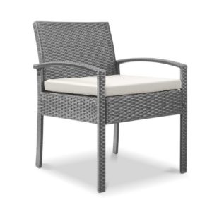odf chair tea ge 00 300x300 - Gardeon Outdoor Furniture Bistro Wicker Chair Grey
