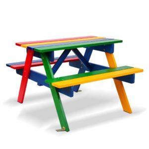 ODF KID PICNIC CFL 00 300x300 - Keezi Kids Wooden Picnic Bench Set