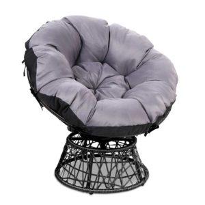 odf papasan ch bk 00 300x300 - Gardeon Papasan Chair - Black