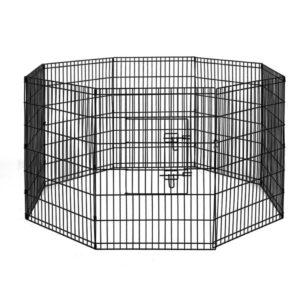 "pet dogplaypen 36 00 300x300 - i.Pet 36"" 8 Panel Pet Dog Playpen Puppy Exercise Cage Enclosure Play Pen Fence"