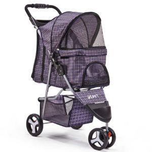 PET STROLLER 3WL BL 00 300x300 - i.Pet 3 Wheel Pet Stroller - Blue