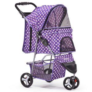 PET STROLLER 3WL PP 00 300x300 - i.Pet 3 Wheel Pet Stroller - Purple