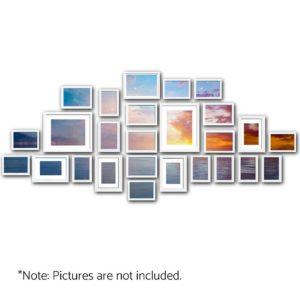 pfs 26f wh 00 300x300 - 26 PCS Picture Photo Frame Wall Set Home Decor Present Gift White