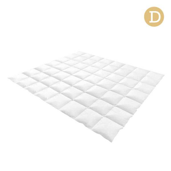 QUILT GOOSE 700 D 00 600x600 - Giselle Bedding Double Size Goose Down Quilt