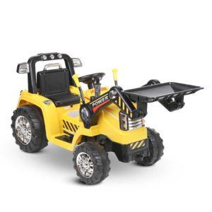 RCAR BULLDOZER YL 00 300x300 - Rigo Kids Ride On Bulldozer Digger Electric Car Yellow