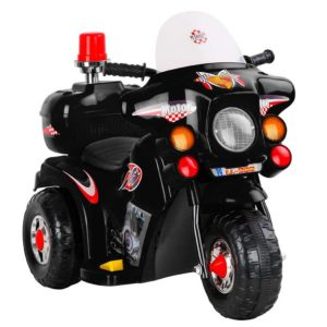 RCAR MBIKE99 BK 00 300x300 - Rigo Kids Ride On Motorbike Motorcycle Car Black