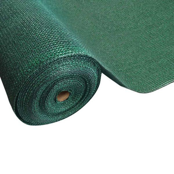 SH CL 183X300 195 GR 00 600x600 - Instahut 90% Sun Shade Cloth Shadecloth Sail Roll Mesh 1.83x30m 195gsm Green