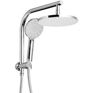 SHOWER A1 RO 9 SI 00 300x300 - WELS 9 inch Rain Shower Head Round Wall Arm Handheld Spray Bracket Rail Chrome