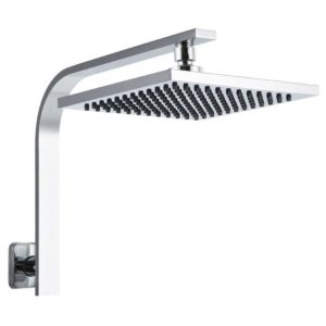 "SHOWER A3 SQ 8 SI 00 300x300 - WELS 8"" Rain Shower Head Set Gooseneck Square Faucet High Pressure Hand Held"