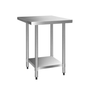 SSKB 430S 76 30 00 300x300 - Cefito 762 x 762mm Commercial Stainless Steel Kitchen Bench