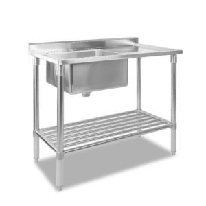 sskb sink l100 00 300x300 - Cefito 100x60cm Commercial Stainless Steel Sink Kitchen Bench