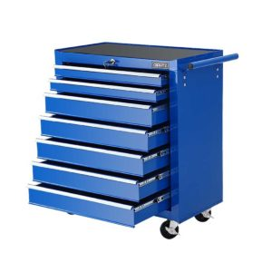 TB 7DR RL BL 00 300x300 - Giantz Tool Chest and Trolley Box Cabinet 7 Drawers Cart Garage Storage Blue
