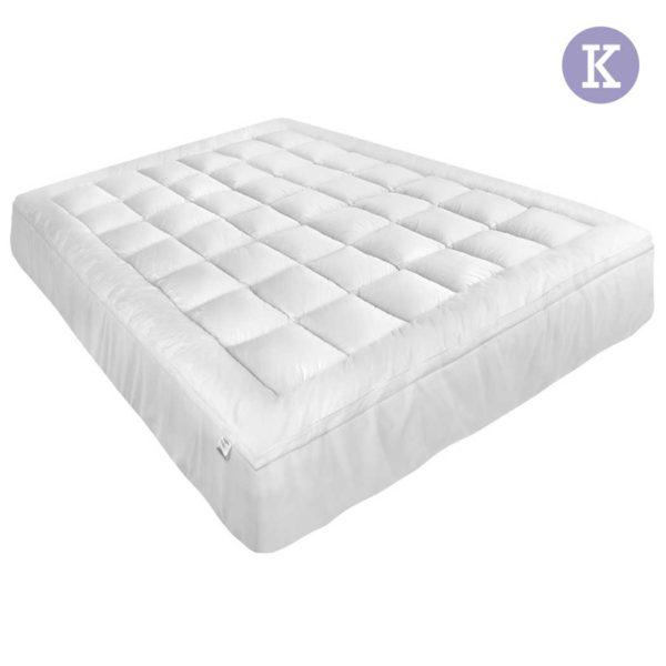 topper pt k 00 4 600x600 - Giselle Bedding King Size Memory Resistant Mattress Topper