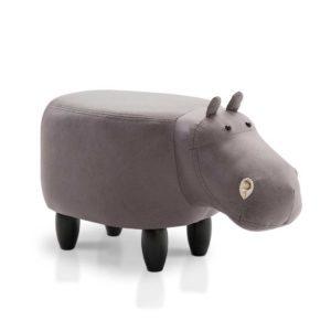 UPHO C ANIMA HIPO GY 00 300x300 - Artiss Kids Hippo Animal Stool - Grey