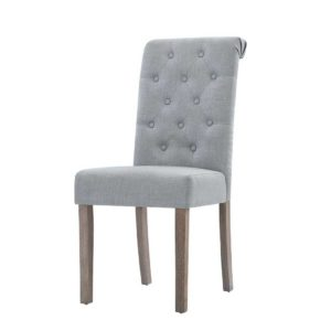 UPHO C DIN 10261 LI GYX2 00 300x300 - Artiss 2x Dining Chairs French Provincial Kitchen Cafe Fabric Padded High Back Pine Wood Light Grey