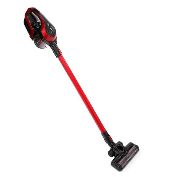 vac cl 150 rd bk 00 600x600 - Devanti Cordless Stick Vacuum Cleaner - Black & Red