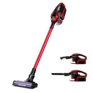 vac cl bh 150 rd bk 00 300x300 - Devanti Cordless 150W Handstick Vacuum Cleaner - Red and Black