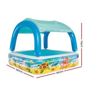 BW POOL KID 52192 01 300x300 - Bestway Inflatable Kids Pool Canopy Play Pool Swimming Pool Family Pools