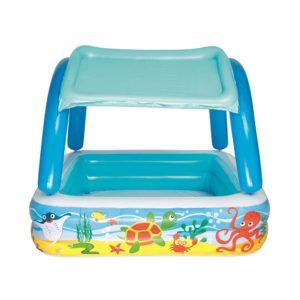 BW POOL KID 52192 02 300x300 - Bestway Inflatable Kids Pool Canopy Play Pool Swimming Pool Family Pools