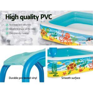 BW POOL KID 52192 04 300x300 - Bestway Inflatable Kids Pool Canopy Play Pool Swimming Pool Family Pools
