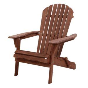 FF BEACH NTLCHAIR BR 00 300x300 - Gardeon Outdoor Furniture Beach Chair Wooden Adirondack Patio Lounge Garden