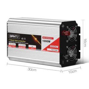 invert p 1000w sl 01 300x300 - Giantz 1000W Puresine Wave DC-AC Power Inverter