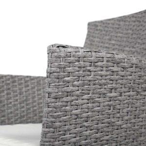 odf bistro rattan ge 05 1 300x300 - 3 Piece Wicker Outdoor Chair Side Table Furniture Set - Grey