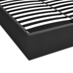 BFRAME E TOKI Q CHAR AB 06 300x300 - Artiss TOKI Queen Size Storage Gas Lift Bed Frame without Headboard Fabric Charcoal