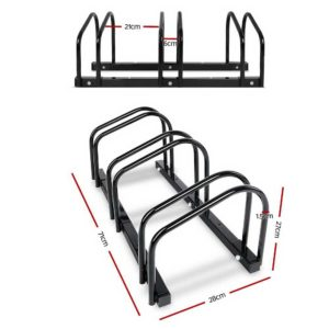 bike 3 bk 01 1 300x300 - Portable Bike 3 Parking Rack Bicycle Instant Storage Stand - Black