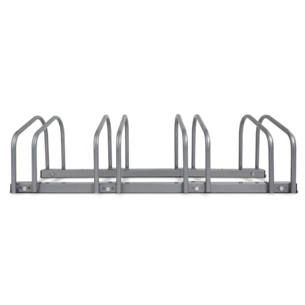 bike 4 si 02 1 600x600 - Portable Bike 4 Parking Rack Bicycle Instant Storage Stand - Silver