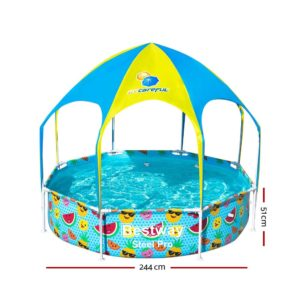 BW POOL PLAY 56543 01 300x300 - Bestway Above Ground Swimming Pool with Mist Shade