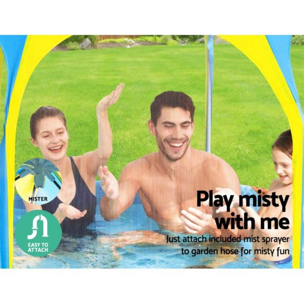 BW POOL PLAY 56543 04 600x600 - Bestway Above Ground Swimming Pool with Mist Shade