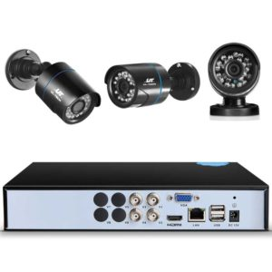 CCTV 4C 2B BK 2T 02 300x300 - UL-Tech CCTV Security System 2TB 4CH DVR 1080P 2 Camera Sets