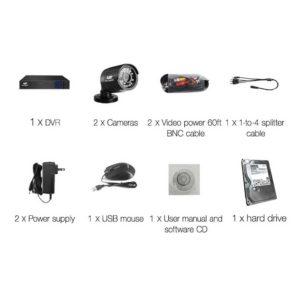 CCTV 4C 2B BK 2T 03 300x300 - UL-Tech CCTV Security System 2TB 4CH DVR 1080P 2 Camera Sets