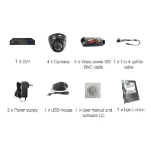 CCTV 4C 4D BK 2T 03 300x300 - UL-Tech CCTV Security System 2TB 4CH DVR 1080P 4 Camera Sets