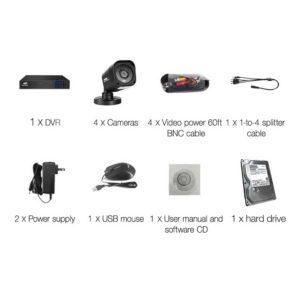 CCTV 4C 4S BK 2T 03 300x300 - UL-Tech CCTV Security System 2TB 4CH DVR 1080P 4 Camera Sets