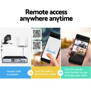 CCTV 4C 4S BK 2T 05 300x300 - UL-Tech CCTV Security System 2TB 4CH DVR 1080P 4 Camera Sets