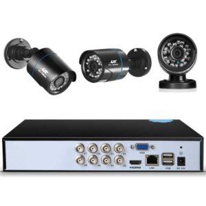 CCTV 8C 4B BK 2T 02 300x300 - UL-Tech CCTV Security System 2TB 8CH DVR 1080P 4 Camera Sets