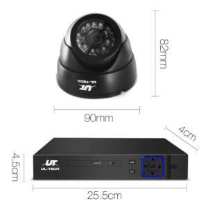 CCTV 8C 4D BK 2T 01 300x300 - UL-Tech CCTV Security System 2TB 8CH DVR 1080P 4 Camera Sets