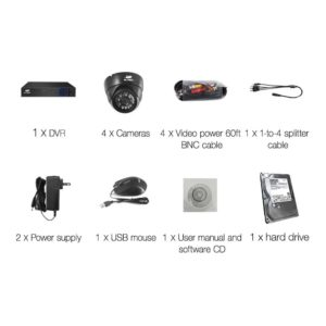 CCTV 8C 4D BK 2T 03 300x300 - UL-Tech CCTV Security System 2TB 8CH DVR 1080P 4 Camera Sets