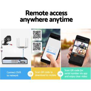 CCTV 8C 4S BK 2T 05 300x300 - UL-Tech CCTV Security System 2TB 8CH DVR 1080P 4 Camera Sets