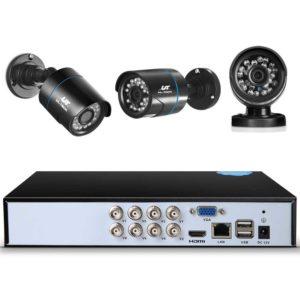 CCTV 8C 8B BK 2T 02 300x300 - UL-Tech CCTV Security System 2TB 8CH DVR 1080P 8 Camera Sets