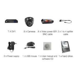 CCTV 8C 8D BK 2T 03 300x300 - UL-Tech CCTV Security System 2TB 8CH DVR 1080P 8 Camera Sets