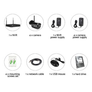 CCTV WF CLA 8C 4B 2T 01 300x300 - UL-Tech CCTV Wireless Security System 2TB 8CH NVR 1080P 4 Camera Sets