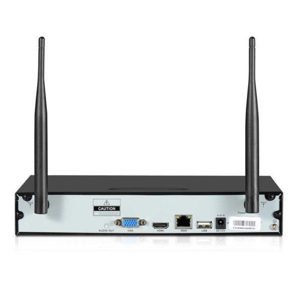 CCTV WF CLA 8C 4B 2T 06 600x600 - UL-Tech CCTV Wireless Security System 2TB 8CH NVR 1080P 4 Camera Sets